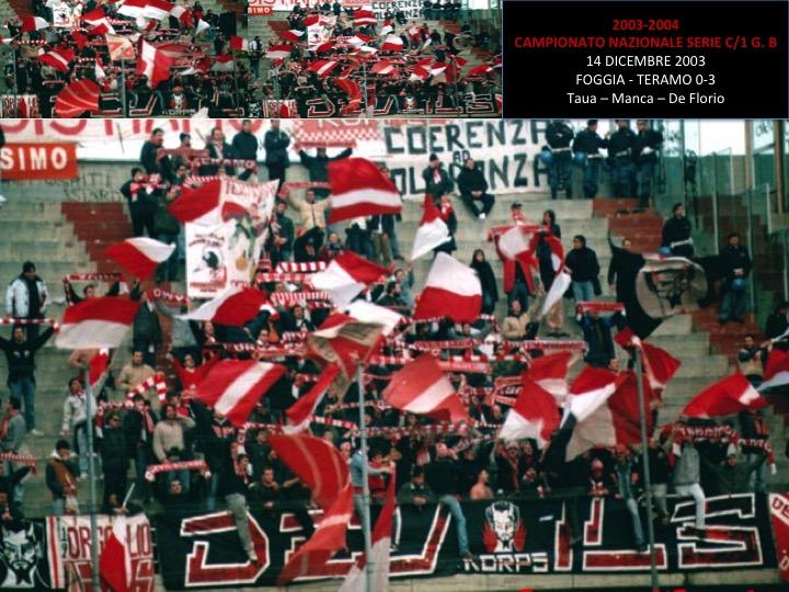 Foggia 2003